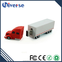 3D Customized Usb Memory Stick 4Gb 8Gb 16Gb Truck Shape Pvc Usb Flash Drive