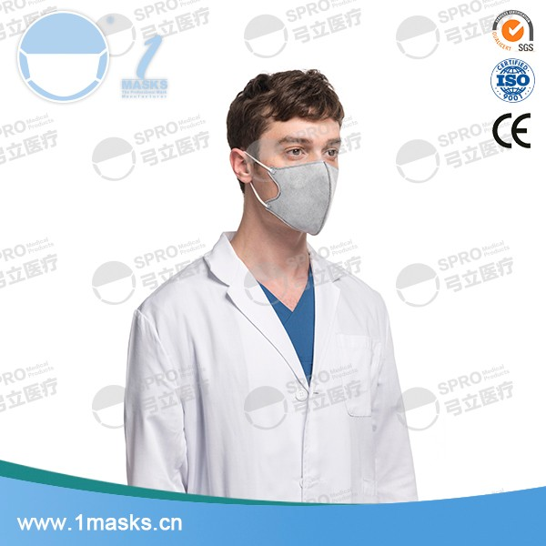Low price medical protective 3d active carbon surgical face mask
