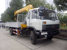 good aftermarket Dongfeng truck mounted crane 5 TON