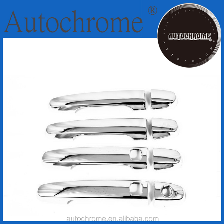 Chrome trim strips, car accessory chrome door handle cover with keyless access - for Toyota Kijang / Qualis / Innova