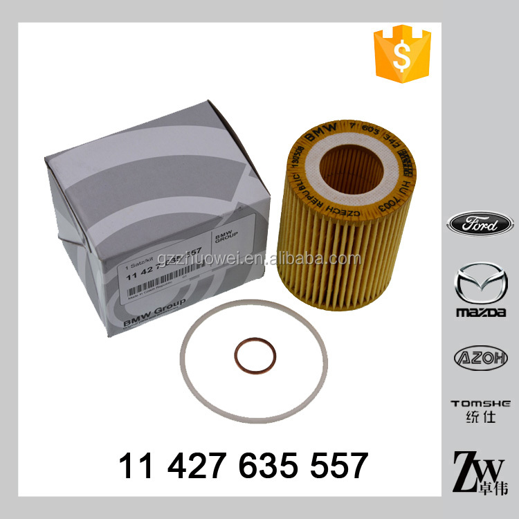 Automotive engine lubrication system spare parts oil strainer oil filter 11 427 635 557,7603342,HU7003 for BMW F20 F21 F30