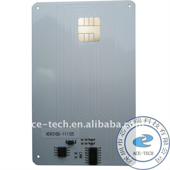 Smart card chip for Xerox FaxCenter 3100 reset toner chip