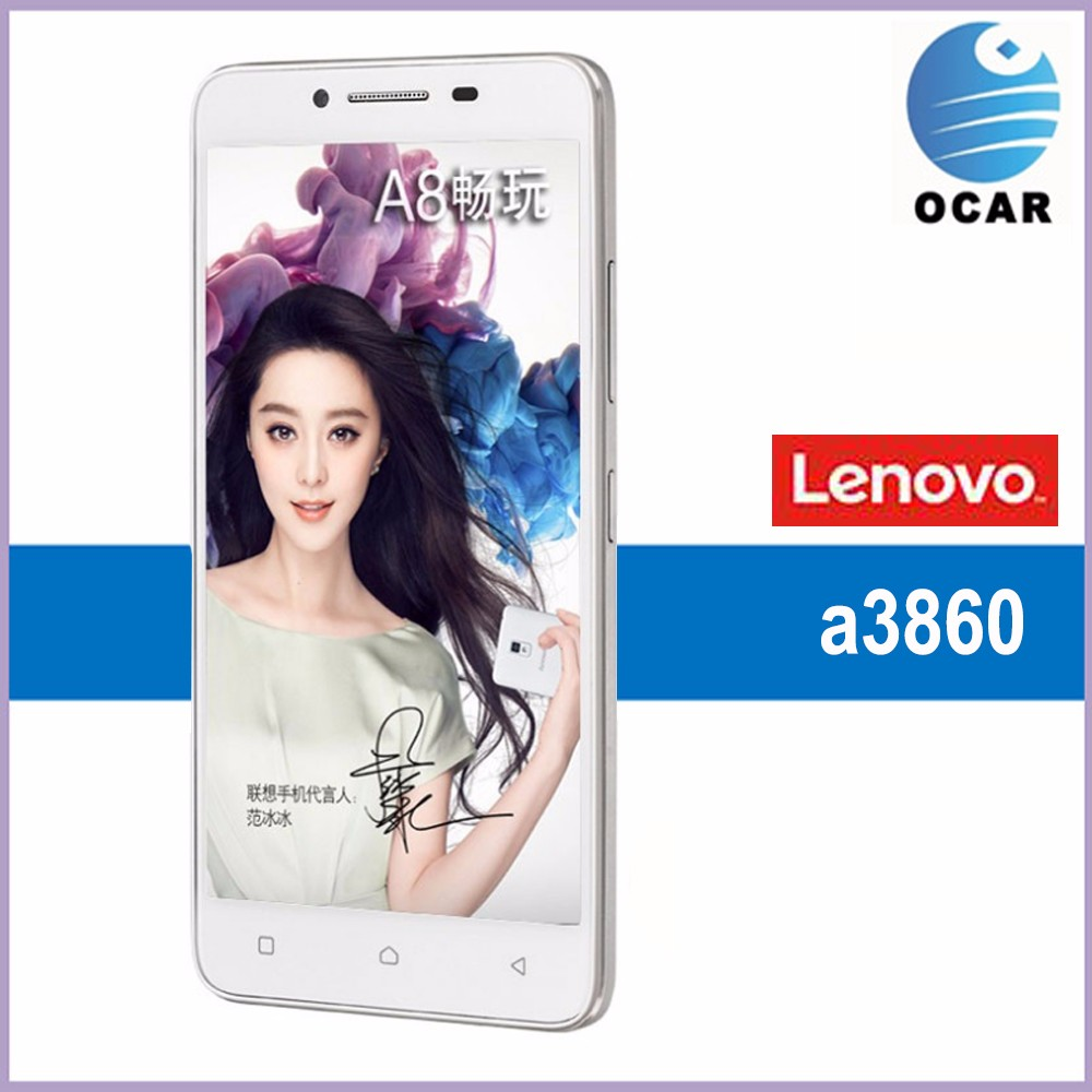In Stock Lenovo A3860 5.0 inch Android OS 5.1 Smart Phone ROM 16GB RAM 2GB