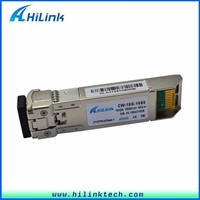 transmitter and receiver 1590nm DDM LC 10G CWDM SFP 40KM