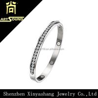 Stock!fashion charm bio magnetic love healthy cuff bracelet men