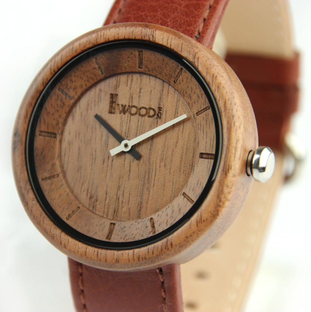 2017 newest Redear design wholesale Wood watch make your logo custom logo fashion leather wrist watch own logo bewell