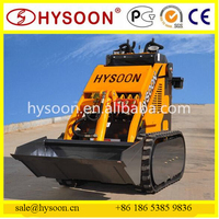 hysoon 200kg loading capacity mini skid steer with CE