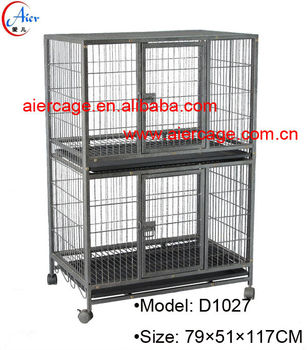 Best prices pet product square tube modular dog cages and kennels
