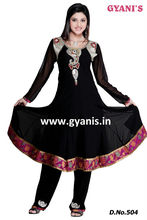 Indian Ethnic Beautiful Traditional a gorgeous new churidar suit