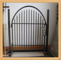 PVC Coated Welded Wire Mesh Fence Gates