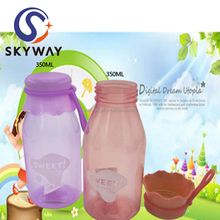 350ML Plastic Milk Cup with Cover for Tea for Baby