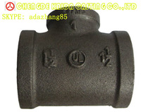 UL/FM Malleable Iron Pipe Fitting galvanized American standard NPT thread pipe fittings