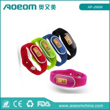 3D pedometer smart watch calorie burn counter watch with usb flash drive