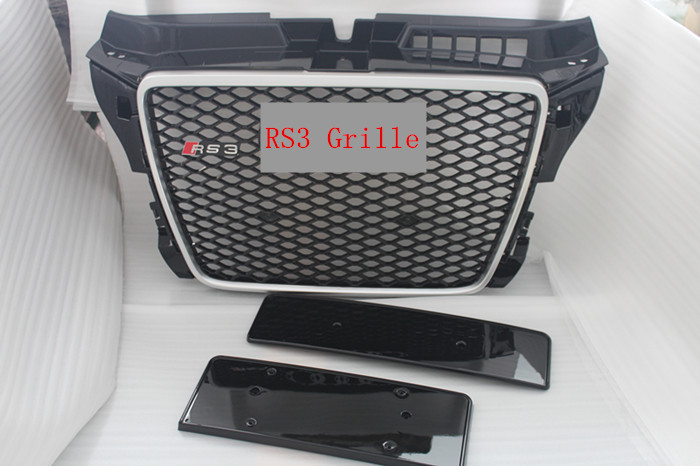 for audi A3 8p change rs3 front grille