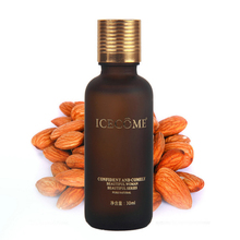 organic sweet almond oil for eliminating wrinkles and fine lines