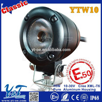 Y&T 10W autobike led back lamp pure aluminum casin , autobike led back lamp red leds, autobike led back light