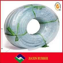 2014 high quality colourful clear silicone rubber tube