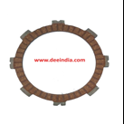 Clutch plate for high quality alloy