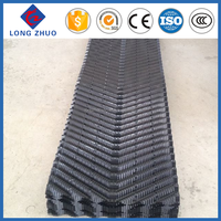 Cooling tower fill types, 610mm counter-flow cooling tower filler, PVC Infill film media
