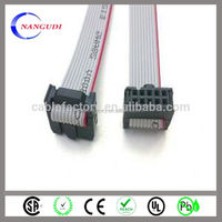 UL2651 28AWG 10 PIN IDC FLAT RIBBON CABLE,CUSTOM ORDERS ARE WELCOMED