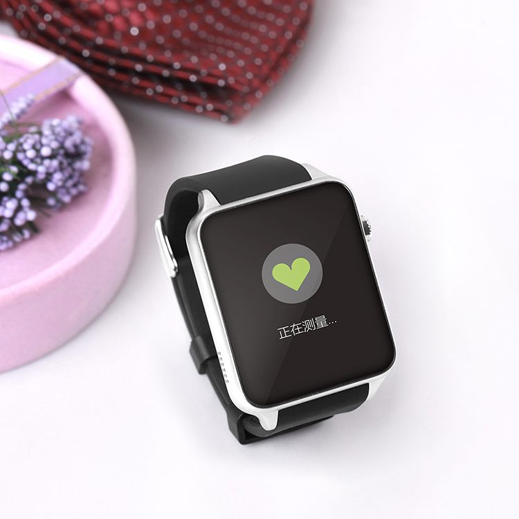Chinese support SIM Card factory Wearable Device smartwatch with waterproof and Heart rate for IOS Android