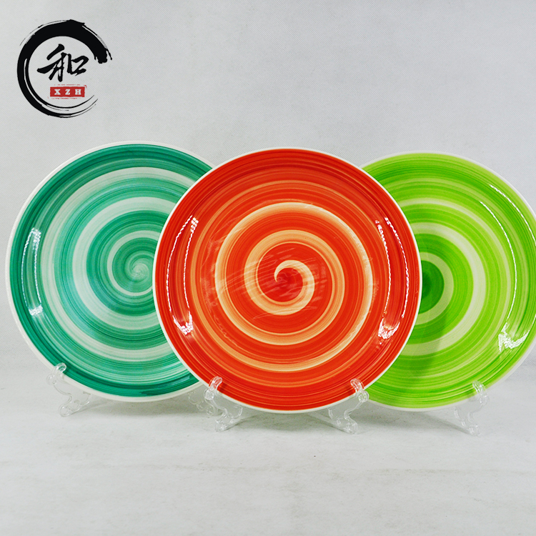 China Factory Wholesale ceramic Plate Food Plate Baking Ceramic Dishes