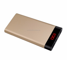 New Launching 10000 mah Type-C mobile phone power bank Credit card size mobile phone battery for Macbook