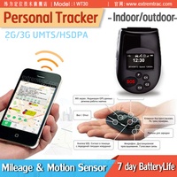 Quad band GPS Personal Tracker GPS/GSM/SMS Alzheimers Elderly Tracker Android IOS Software APP