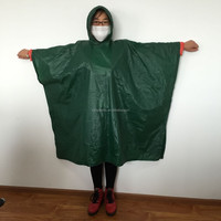 High quality Adult and children waterproof breathable durable PE and PVC rain suit