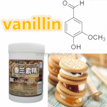wholesale high quality natural food protein additive Cheap Price Of Ethyl Vanillin powder CAS:121-32-4 food flavor MF:C9H10O3