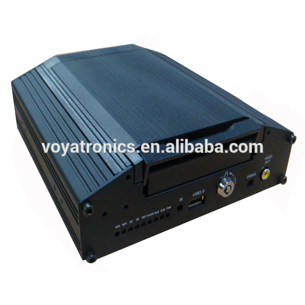 2015 new style wide double camera motion detection mobile DVR sd