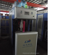 5 gallon pet filling water bottle machine, stretch moulding machine,Semi-automatic blow molding machine