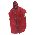 Disposable Plastic Raincoats with Hood