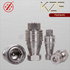 "KZF Stainless Steel Quick Release couplings Female 1/4""BSP"