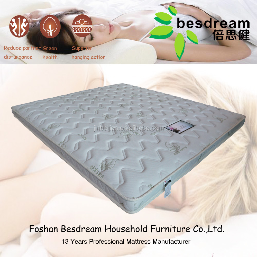 Besdream baby cot bed mattress topper pocket spring mattress