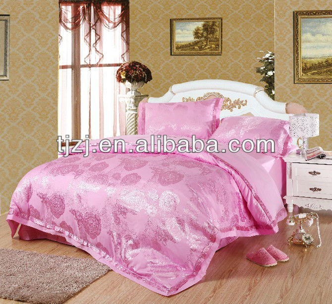 Top rated antibacterial bedding sets 4 pcs duvet cover sheet pillow case)in queen size