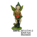 Little Boy Garden Statues Resin Arts And Crafts Figurine Garden Decor