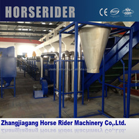 New design Waste Plastic Film Washing and Recycling Line