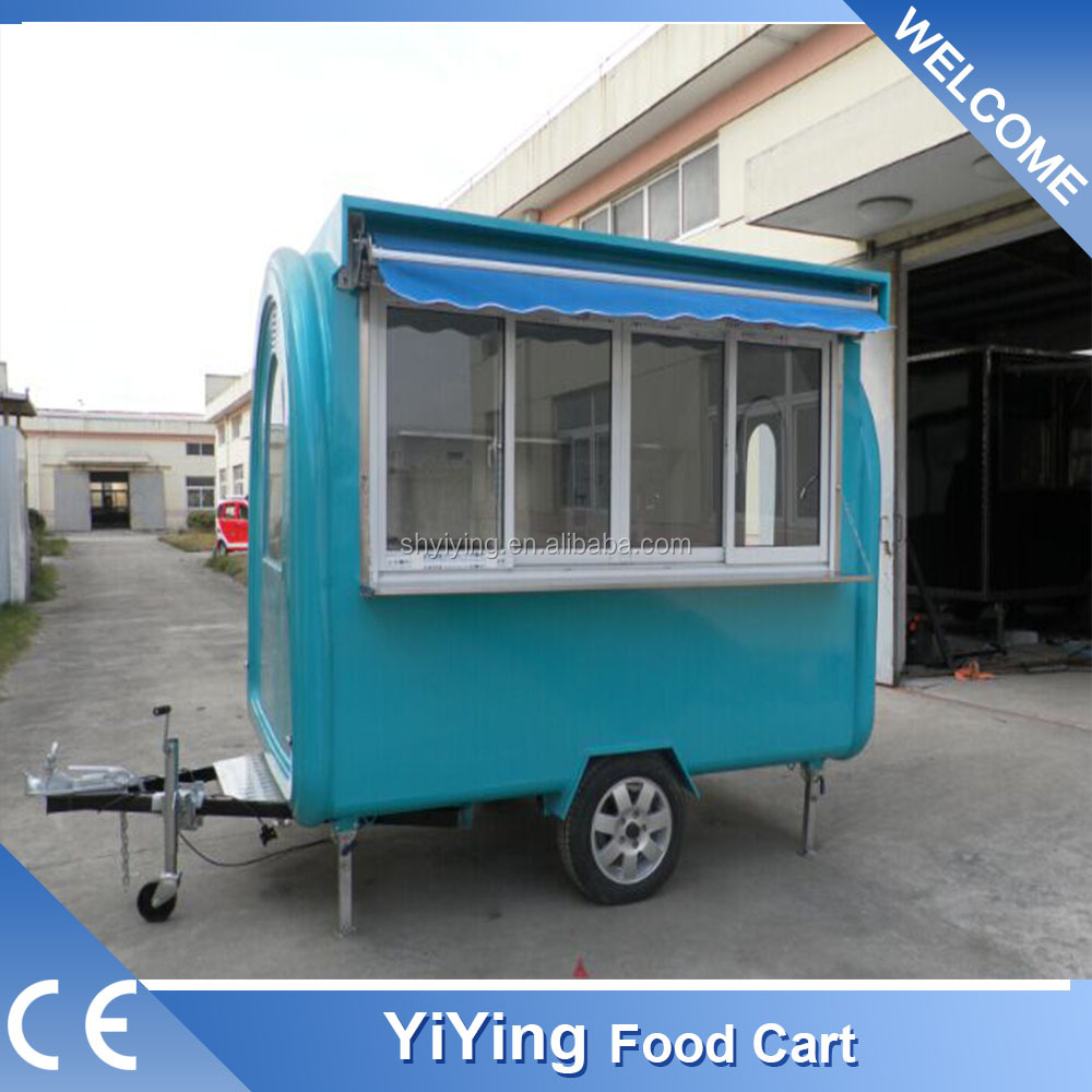 FR220H Yiying factory made brand new fast food information burger kiosk trailer for sale