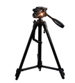 53 Inch Aluminum Professional Portable Cell Phone Tripod for Iphone, Cell phone and Camera with Phone Mount Holder + Remote Shut