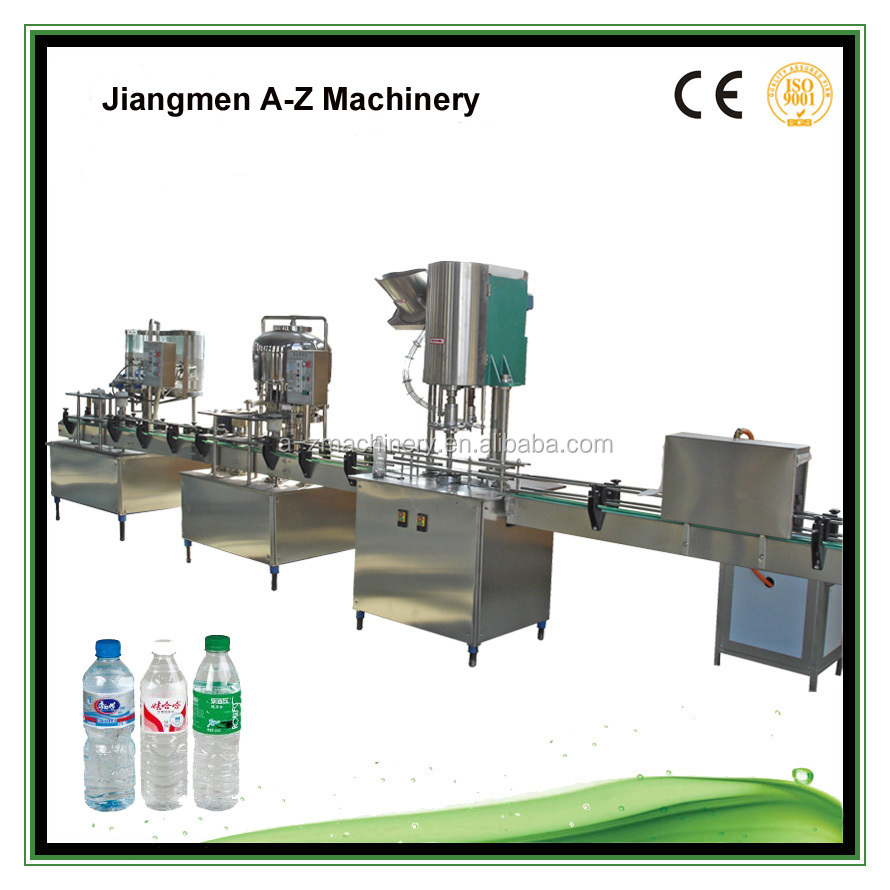 Manufacturer Good Price small water bottling machine/water bottling plant price/water bottling equipment prices from A-Z