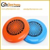 Promotional accurate soft dog frisbee for training
