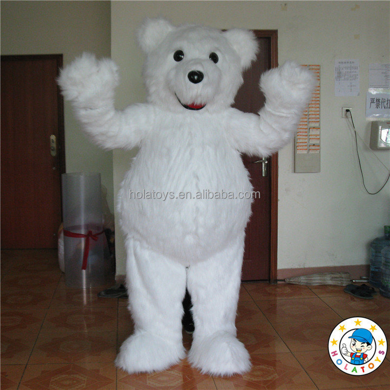 realistic bear costume/bear mascot costume for sale