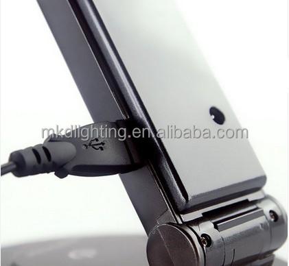 dimmable 책상 램프 검은 색 USB 콘센트-테이블 램프 및 읽기용 램프 ...