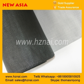 Top Quality Gray Color 120g fiberglass insect screen for window plain weave mosquito nettingfactory