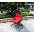 rattan garden wicker outdoor classic indoor patio Hanging Egg Swing Chair