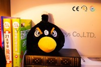 plush toys for crane machines black big bird doll with angry voice