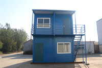 demountable mobile convenient store  two floor container house for sale
