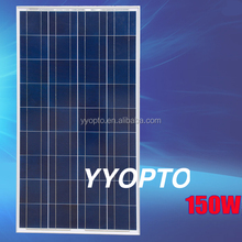 High efficiency great quality and price 150 watt poly pv solar panel