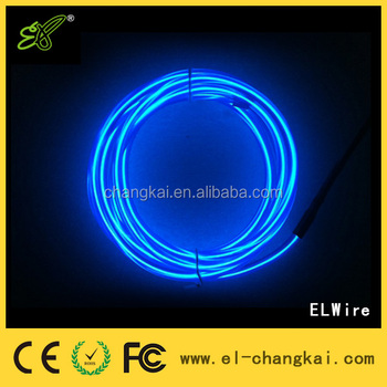 Electroluminescent wire,beautiful EL wire for decoration